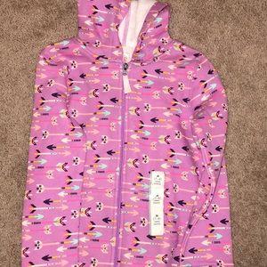 Girls Zip-up hoodie, size M (7/8)